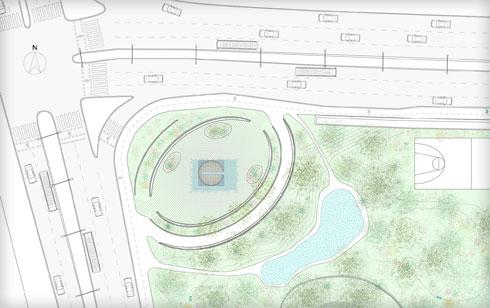 שטח הפרויקט (הדמיה: FONMA ONIVA)