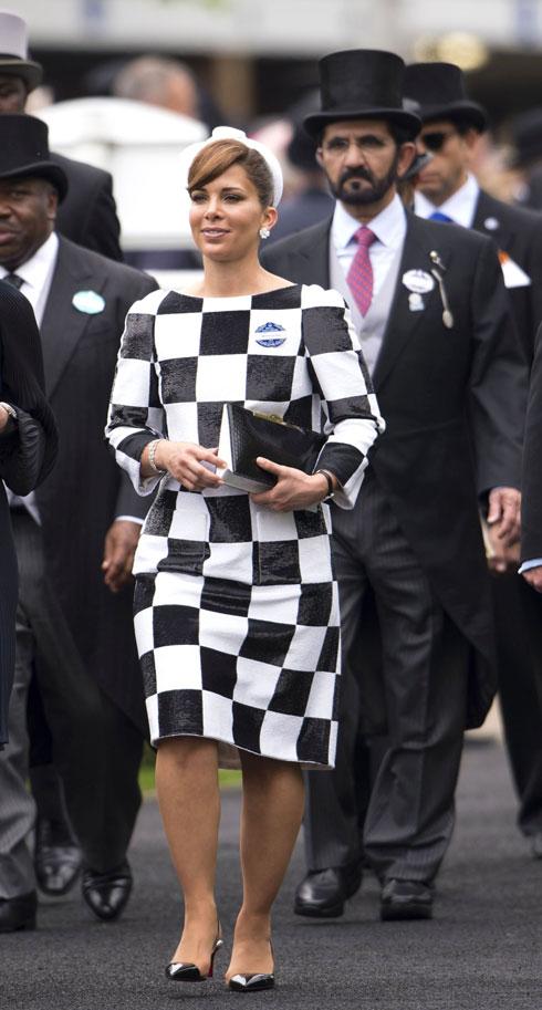 יומני האופנה של הנסיכה שנמלטה: הסגנון האלגנטי של הייא בינת חוסיין. לחצו על התמונה לכתבה המלאה (צילום: rex/asap creative)