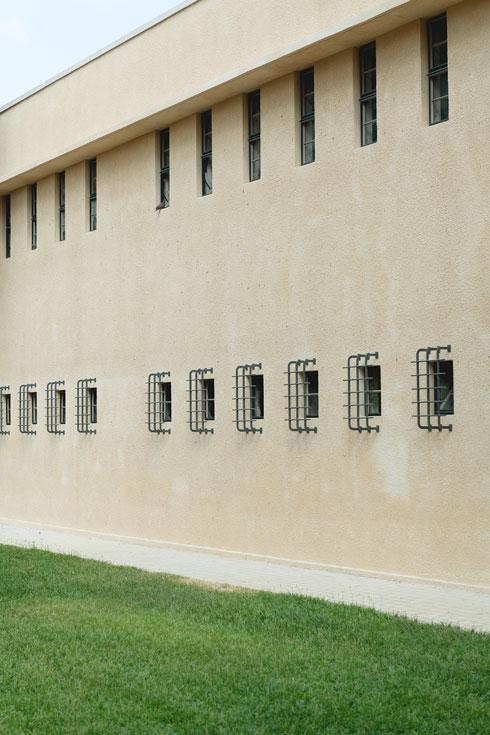 אדריכלות מנדטורית בלב רמת גן (צילום: גדעון לוין)