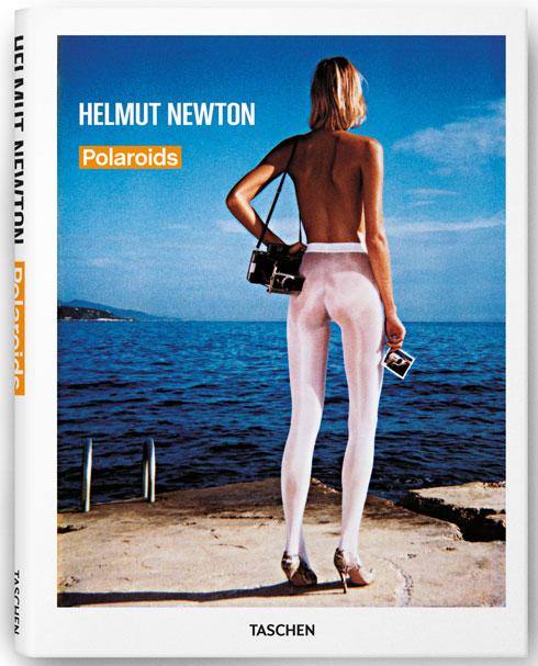 עטיפת ספר צילומי פולארויד של ניוטון