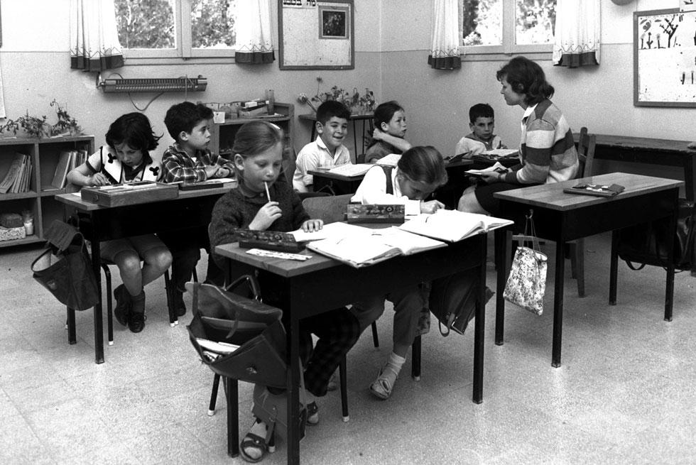 """אז בבית הספר. """"כל מה שילד צריך, זה מבוגר אחד שיאמין בו"""", אמר הרב שלמה קרליבך - וצדק (צילום: פריץ כהן, לע""""מ)"""