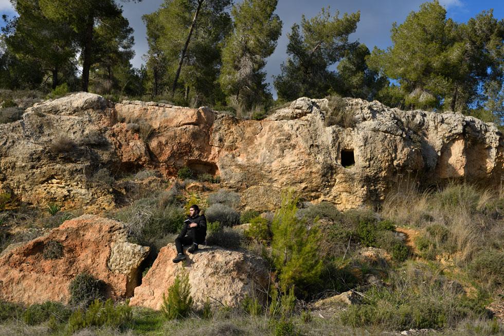 שלווה מופלאה ברכס לבן, ממערב לירושלים. בעתיד הלא רחוק: גלויה בלבד (צילום: יונתן בלום)