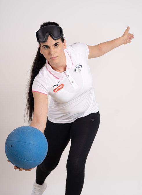 """""""בזכות הספורט  הייתי עוד משהו חוץ מנערה לקוית ראייה."""" (צילום:  orro pics)"""