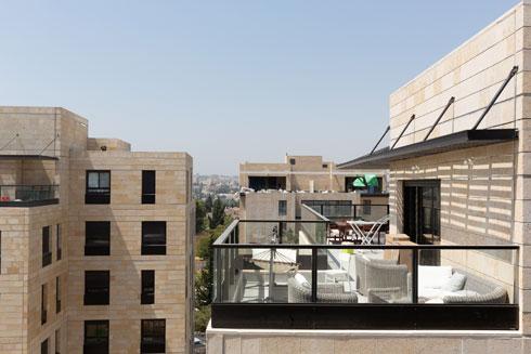 תמהיל דירות שמתחיל ב-2 חדרים ונגמר בפנטהאוזים (צילום: דור נבו)