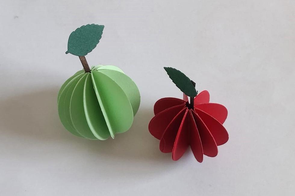 תפוחים בלי דבש (צילום: ברכה לנד עיצוב בנייר)