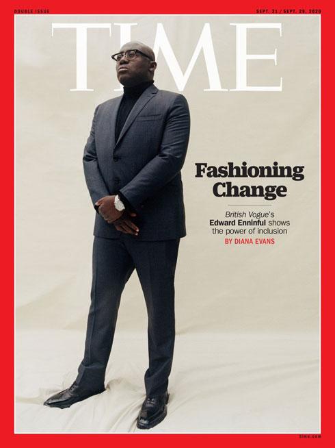 זוכה לכתבת שער במגזין TIME