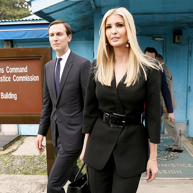 """הנשיאה הבאה של ארה""""ב? איוונקה טראמפ ובעלה, ג'ארד קושנר (צילום: רויטרס)"""