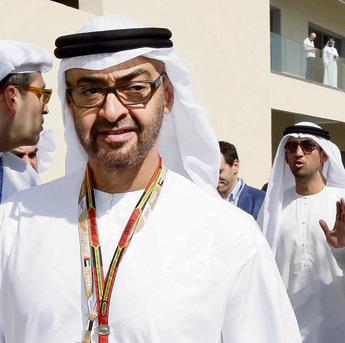 """MBZ (מימין) ו־MBS. """"אני חושב שאחרי שהעסקה תיחתם, דברים יתחילו לזוז גם בצד הסעודי""""   צילום: אי פי"""
