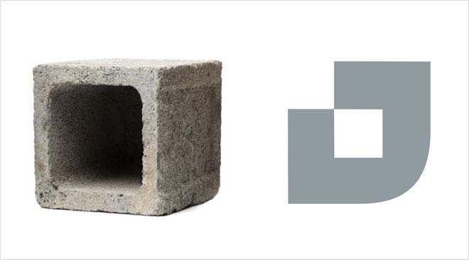 שימוש בלבנים כדי למתג את טמבור כחברת בנייה, לא רק כחברת צבע (עיצוב: משרד הפרסום אדלר-חומסקי, משרד המיתוג SHAKE DESIGN  ומשרד הפרסום מקאן תל-אביב)