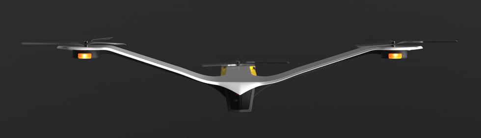 מוטת כנפיים רחבה במיוחד מסמנת ''סכנה'' (עיצוב: אור לב כהן, מיכל לשצ'ינסקי)