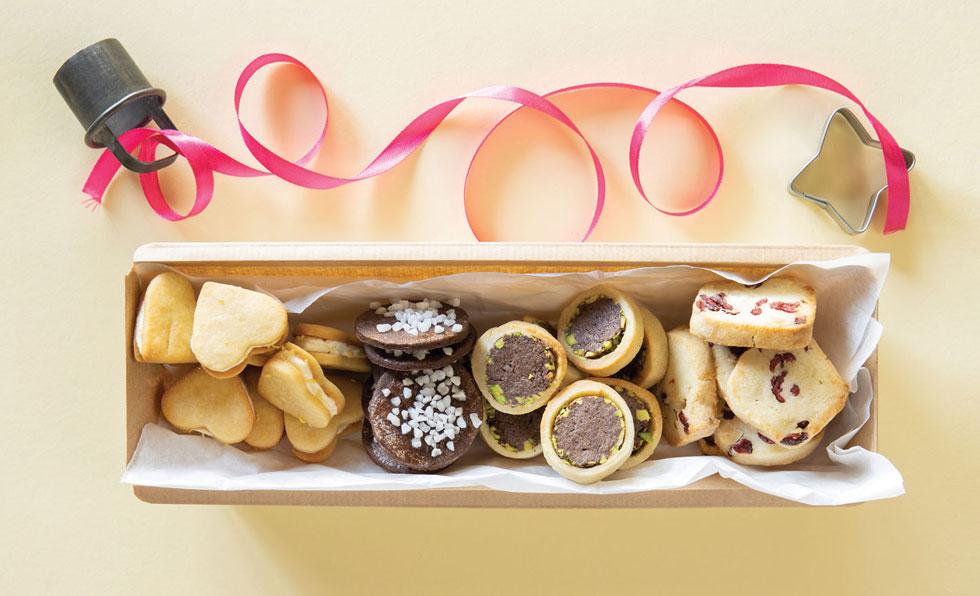 עוגיות מ (צילום: דני לרנר, סגנון: פסי ברניצקי)