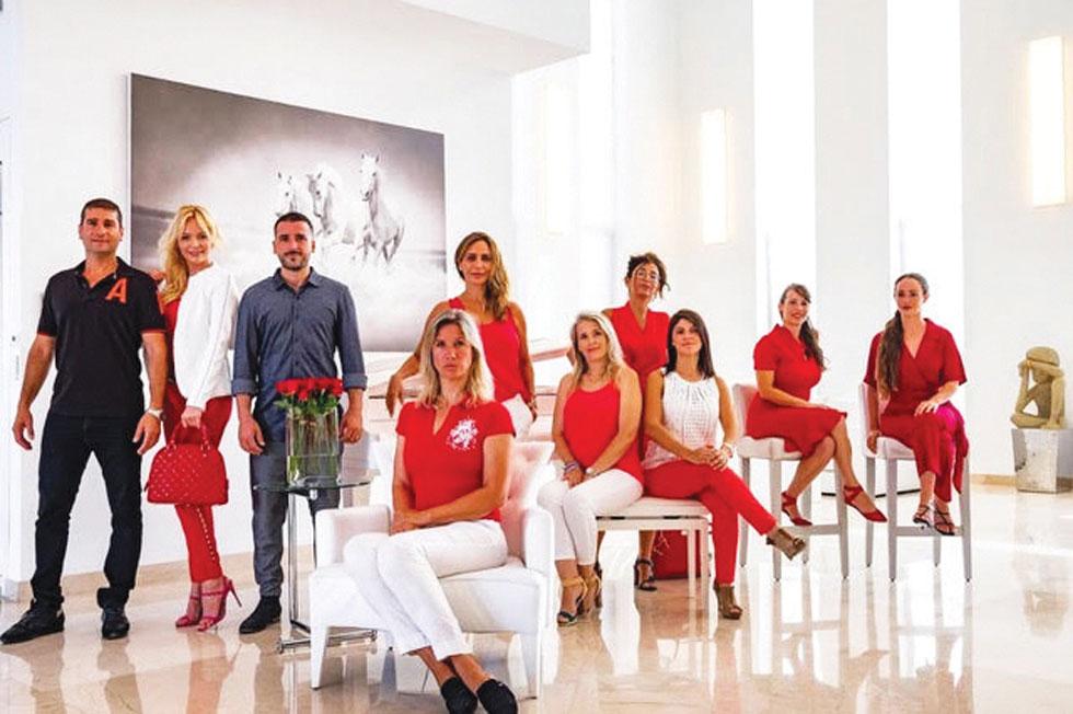צוות סוכנות הנדל״ן Dream House  (צילום: באדיבות רביד אלימלך)