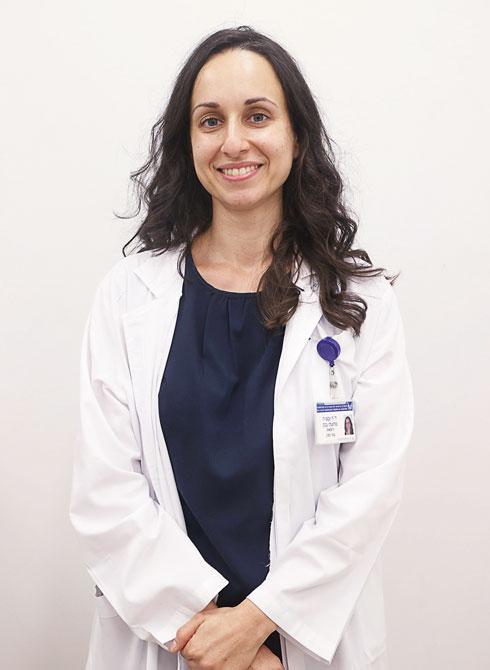 """ד""""ר יבגניה סלוצקי. רופאה במיון קורונה  (צילום: יריב כץ)"""