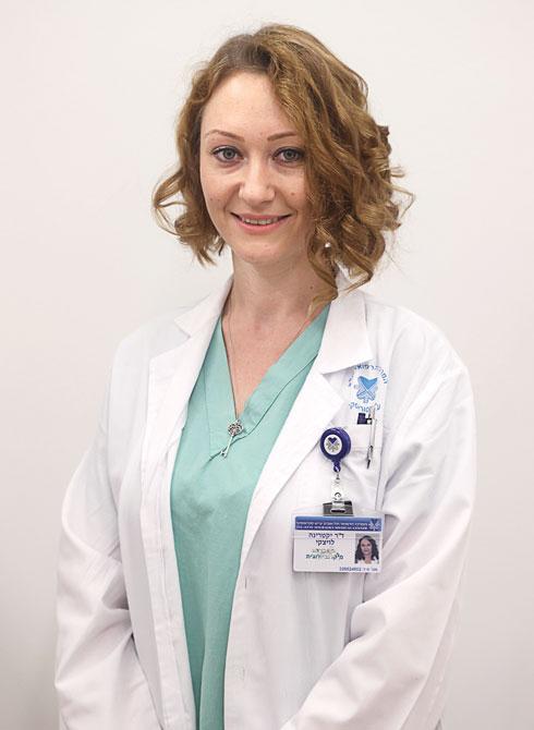 """ד""""ר קטיה לויצקי. עובדת מעבדה (צילום: יריב כץ)"""