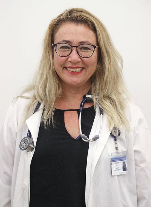"""ד""""ר מיכל דקל. מומחית למחלות זיהומיות (צילום: יריב כץ)"""