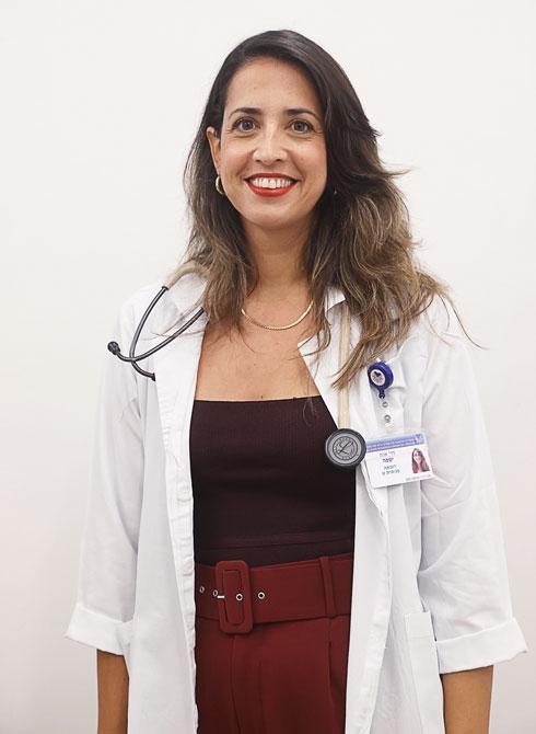 """ד""""ר אווה ישפה. רופאה פנימאית ומתמחה במחלות זיהומיות (צילום: יריב כץ)"""