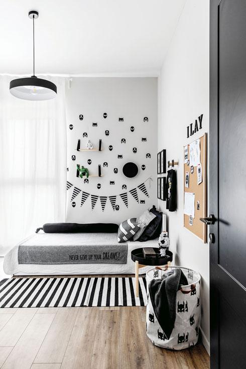חדר השינה של הילד  (צילום: איתי בנית)