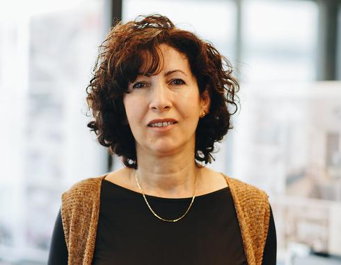 המעצבת מרינה רכטר-רובינשטיין.  (צילום: עמית גושר)