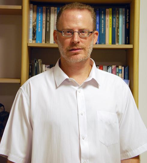 """ד""""ר אסף רגב, חוקר אסלאם ומזרח תיכון, אוניברסיטת בן גוריון ומכון גבעת חביבה, תושב חיפה  (צילום: דני דקל)"""