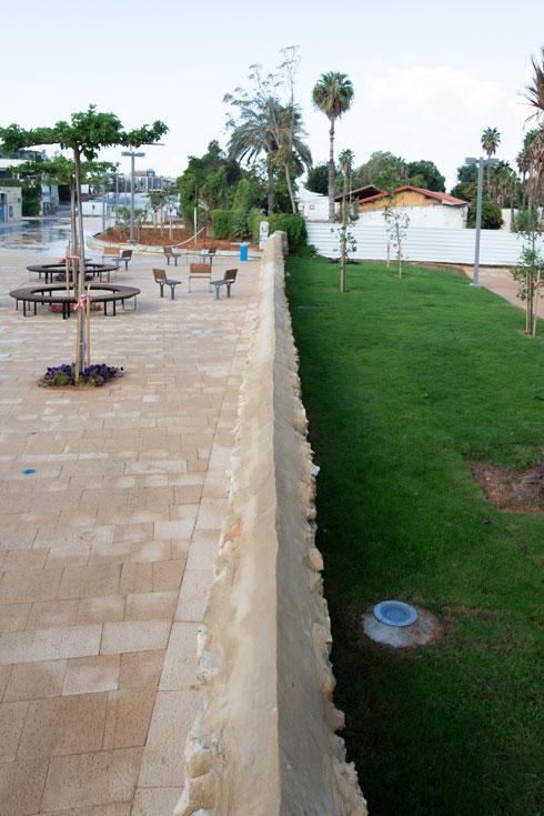 25 מיליון שקל עלתה הקמת הפארק, שמזכיר את פארק המסילה הירושלמי הן ברקע ההיסטורי והן בנוף (צילום: דור נבו)