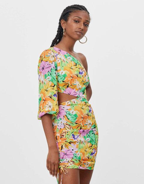 שמלה פרחונית, 199 שקל, ברשקה