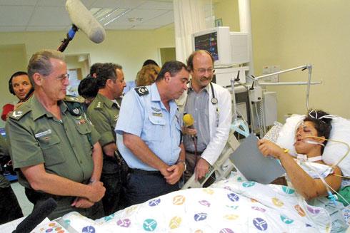 בבית החולים: המפקדים מתייצבים (צילום: ג'רמי פלדמן)