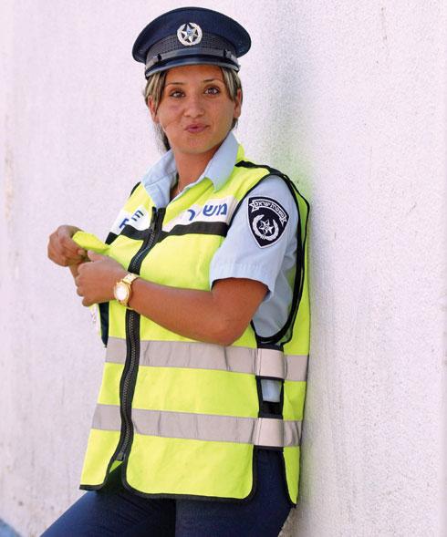 """""""התגייסתי למשטרה כדי לסגור מעגל"""" (צילום: מיכאל קרמר)"""