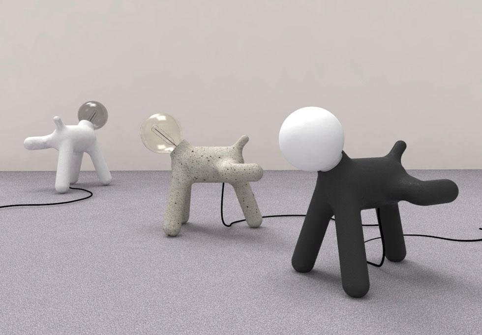 סטודיו OA עיצב סדרה של מנורות מחווה ל-Puppy, הכלב האיקוני שעיצב ארו ארניו הפיני לקולקציית רהיטי הילדים המפורסמת שלו. 1,450 שקלים (צילום: אלי ישראלי)