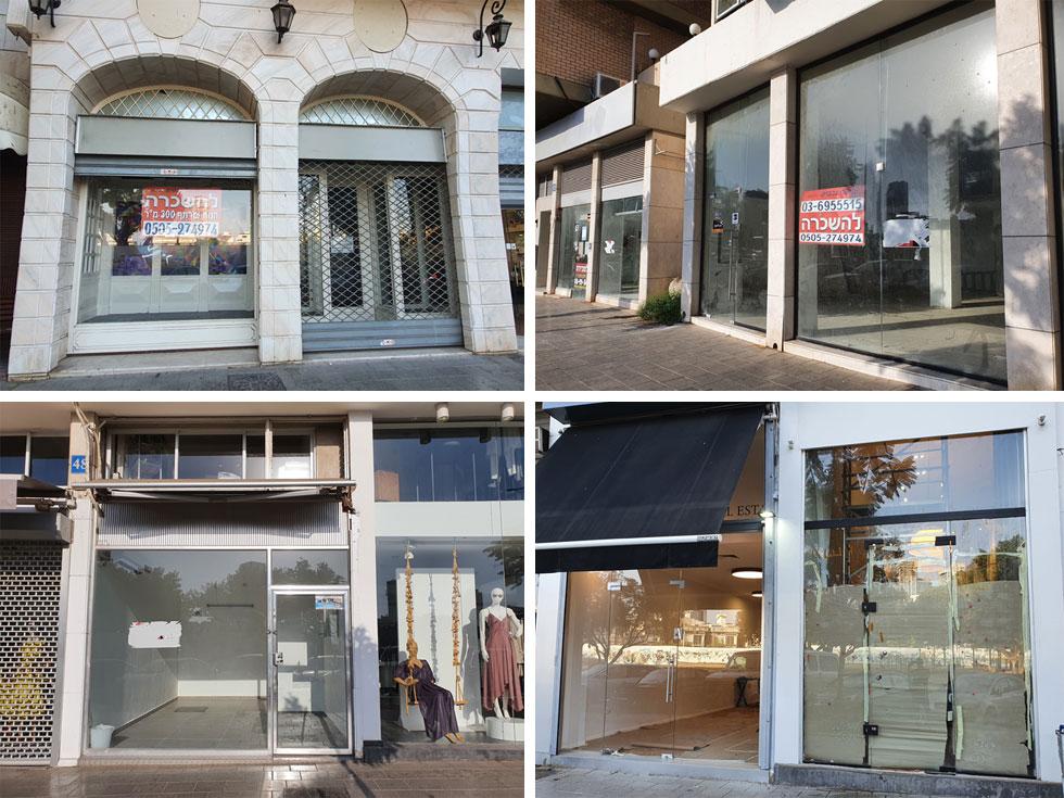 כמעט כל חנות חמישית בעיגול שנחשב ליקר במדינה עומדת ריקה  (צילום: איתי יעקב)