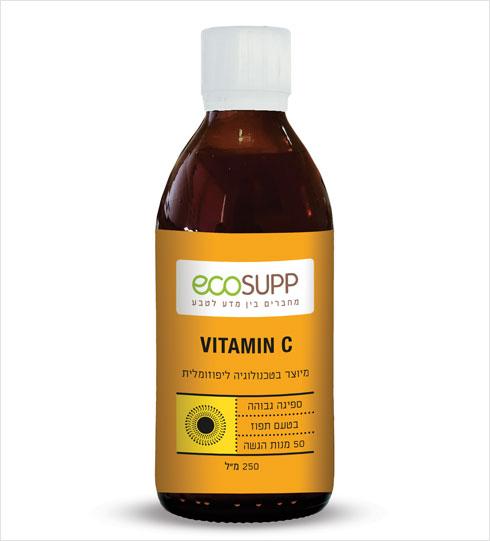 ויטמין C  של אקוסאפ מיוצר בשיטה הליפוזומלית ומאופיין בזמינות ביולוגית גבוהה ורמת ספיגה מוגברת