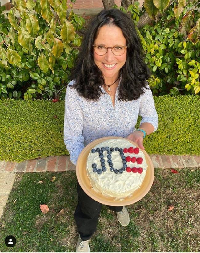 עוגה מעשה ידיה. ג'וליה לואיס דרייפוס (צילום: אינסטגרם)