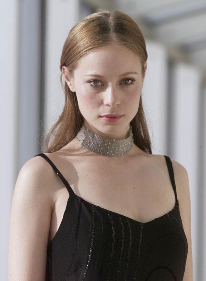 מותגי האופנה בעולם התאהבו במראה שלה. 2000 (צילום: מיכאל קרמר)