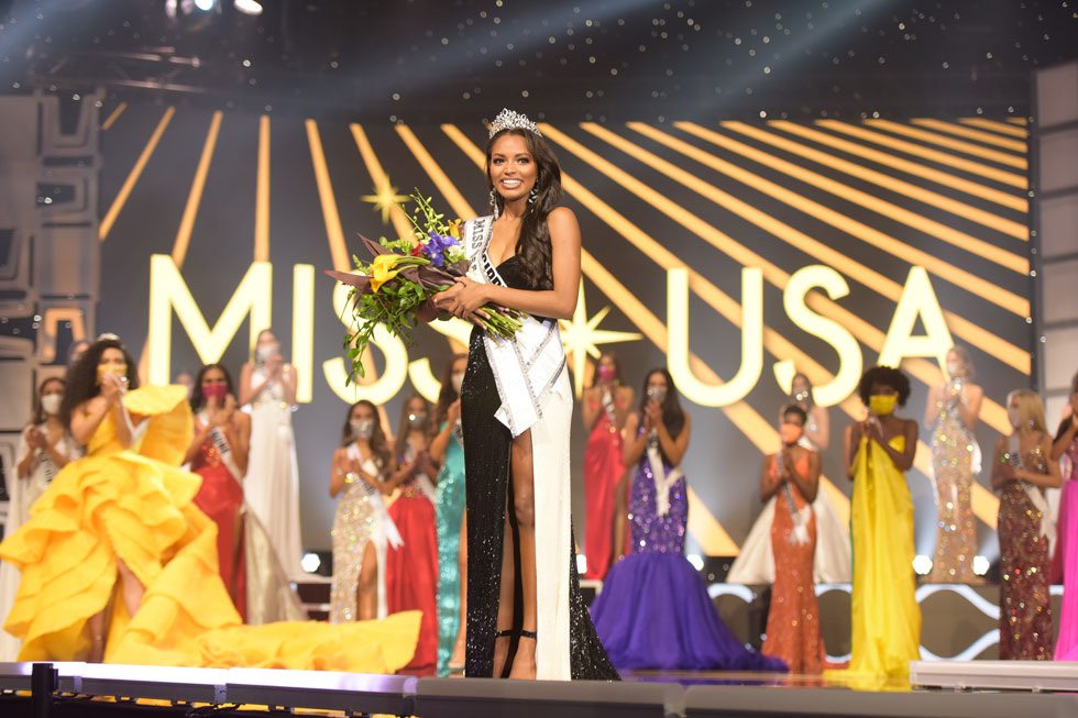 מיס USA או מיס אמריקה? רגע, התבלבלנו  (צילום: Benjamin Askinas/Miss Universe organization)