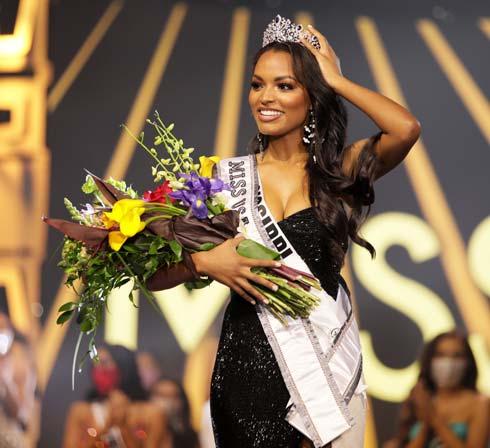 האפרו-אמריקאית הראשונה שזכתה בתואר מיס מיסיסיפי  (צילום: Jessielyn Palumbo/Miss Universe organization)