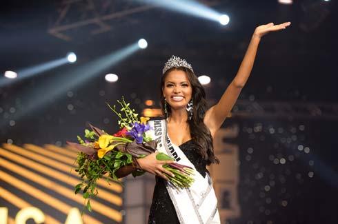 מיס מיסיסיפי הראשונה שזוכה בתואר מיס USA  (צילום: Benjamin Askinas/Miss Universe organization)