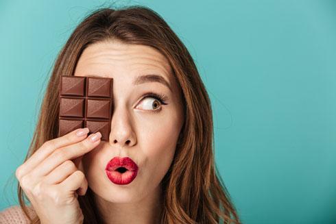 מכירות השוקולד זינקו במאות אחוזים תוך מספר שבועות בגלל הכניסה לסגר  (צילום: Shutterstock)