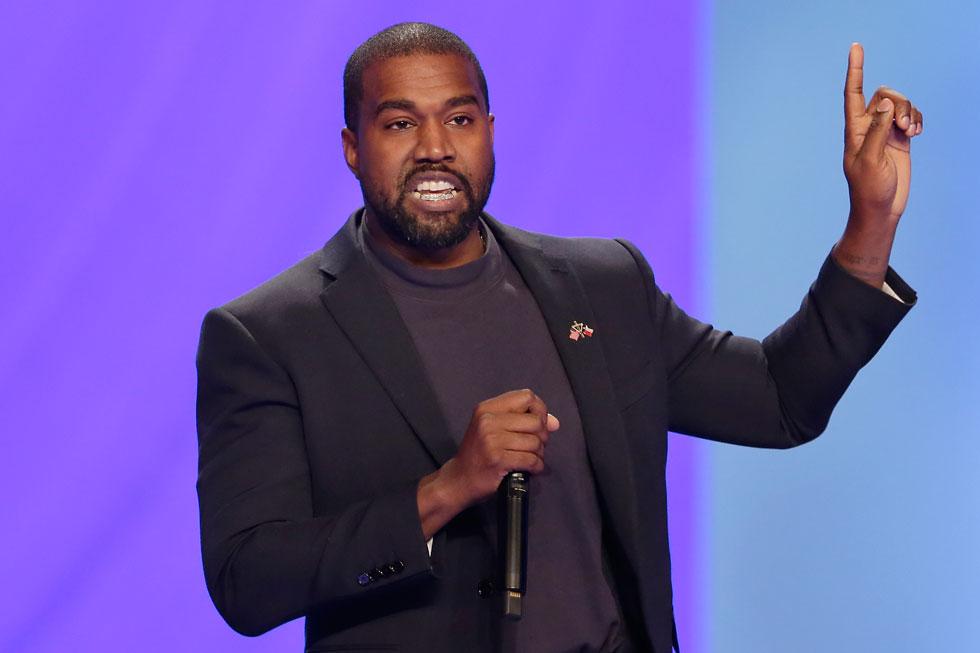 """קניה ווסט. """"הייעוד שלי הוא להיות מנהיג העולם החופשי"""" (צילום: AP)"""