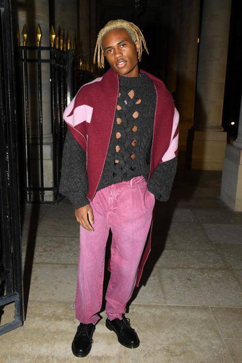 """""""אני עוסק באופנה כל חיי, מאז שהייתי תינוק"""". בשבוע האופנה בפריז, 2020 (צילום: Pascal Le Segretain/GettyimagesIL)"""