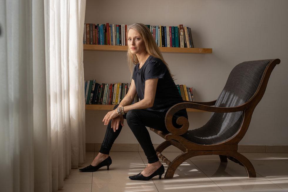 אבישג רבינר (49), דוגמנית, שחקנית, סופרת ומרצה. אמא של עילי (20), יותם (20), אוריינה (16), רפאל (12) וזוהרה (10) (צילום: טל שחר)