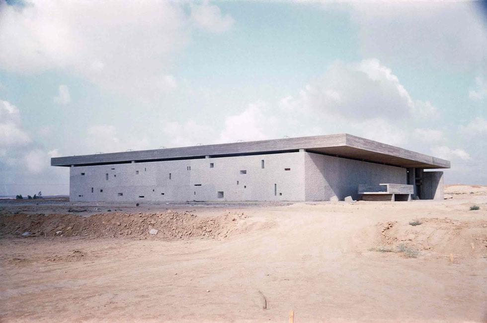 התרגום של יסקי ואלכסנדרוני. שליטה מוחלטת באמנות הבטון (צילום: באדיבות ארכיון אדריכלות ישראל, תל אביב)
