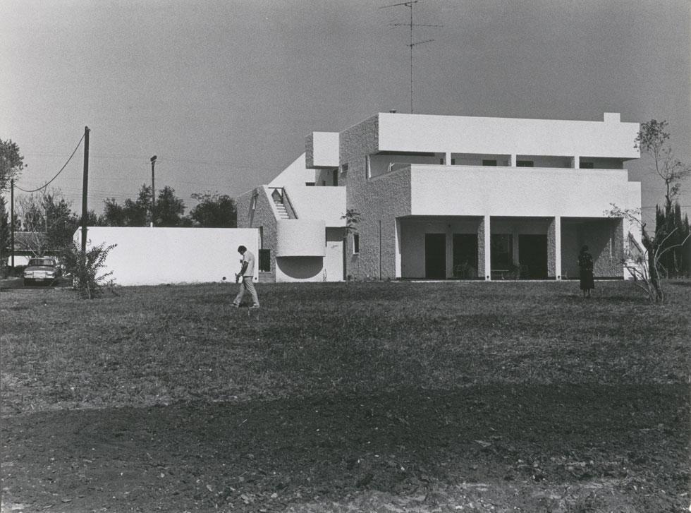 בית לרנר בסביון (צילום: באדיבות ארכיון אדריכלות ישראל, תל אביב)