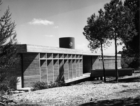 המכון למתכות בטכניון. ברוטליזם במיטבו (צילום: באדיבות ארכיון אדריכלות ישראל, תל אביב)