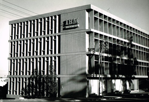 בית IBM ברחוב לינקולן בתל אביב (צילום: גרשון ציפור באדיבות אאי)