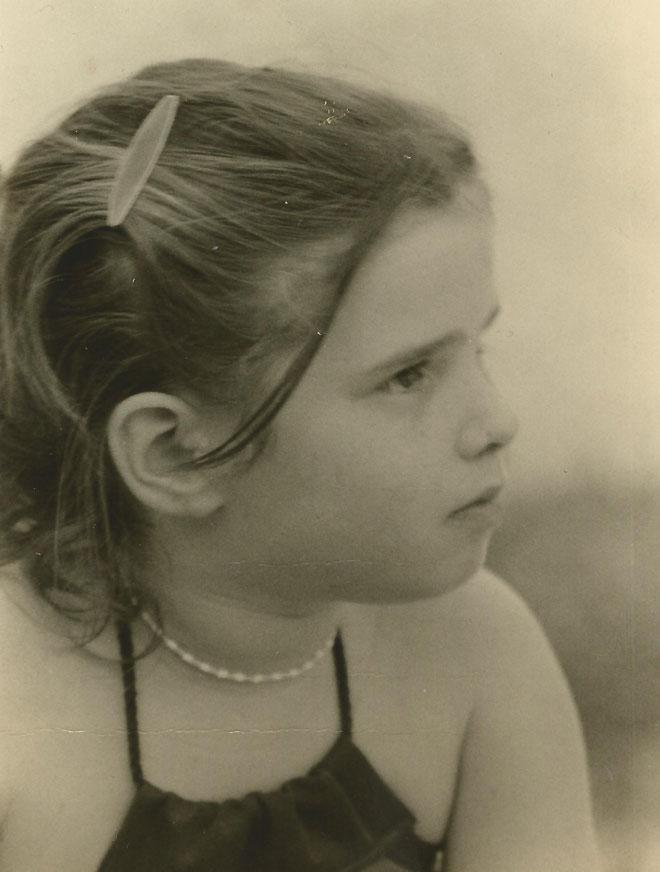 """תמונת ילדות. """"מאז שאני ילדה, אני יודעת מה אני רוצה והולכת בעקבות הלב שלי"""" (צילום: אלבום פרטי)"""