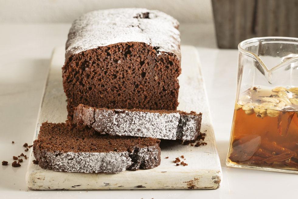 עוגת שוקולד צ'אי  (צילום: דניאל לילה, סגנון: נעמה רן)