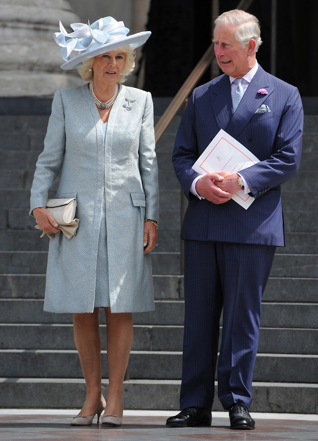 אין תגובה. הנסיך צ'רלס וקמילה (צילום: Gettyimages)