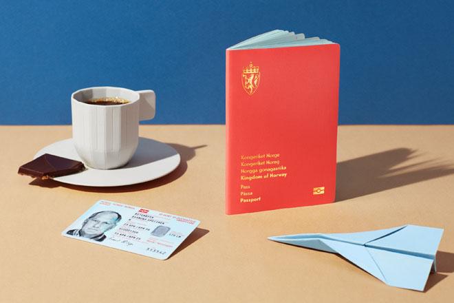 כך יצרו בסטודיו Neue Design הזדהות עם הדרכון (צילום: Catharina Caprino)