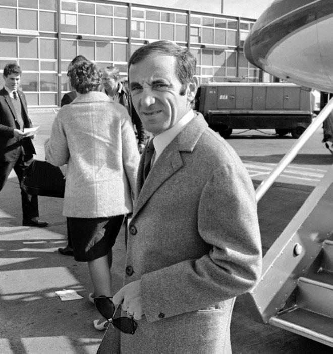 שארל אזנבור, 1967. שאנסונר רומנטי ושרמנטי (צילום: AP)