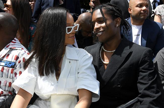 ריהאנה ואייסאפ רוקי (צילום: GettyImages)