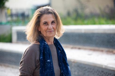 אדריכלית הנוף רות מעוז. היא ושותפתה, עליזה ברוידא, כלל לא מוזכרות בשלט הקרדיטים (צילום: דור נבו)